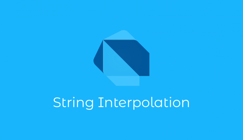 Belajar Dart String Interpolation