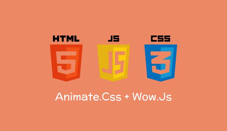 Membuat Animasi Halaman Dengan Animatecss & WowJs
