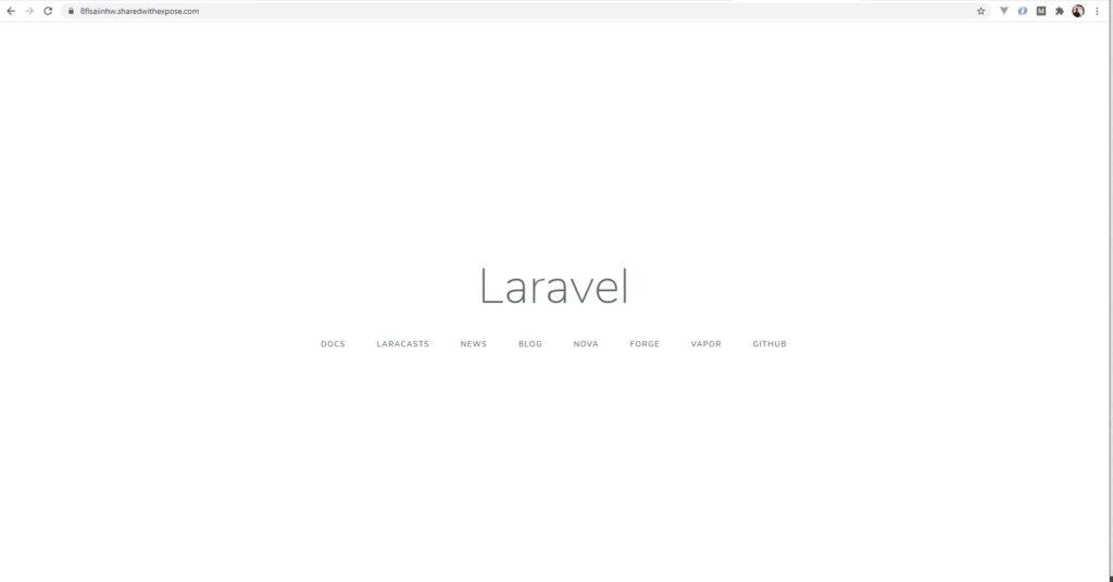 Publikasi Website Lokal ke Publik